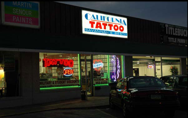 California Tattoo Store