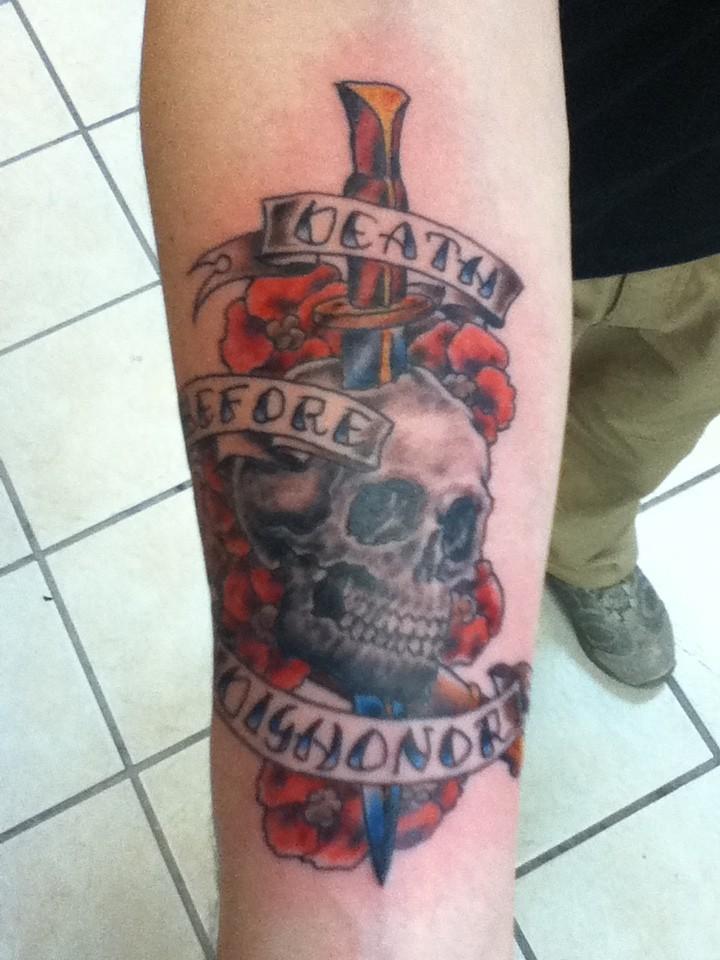 Savannah mall tattoo